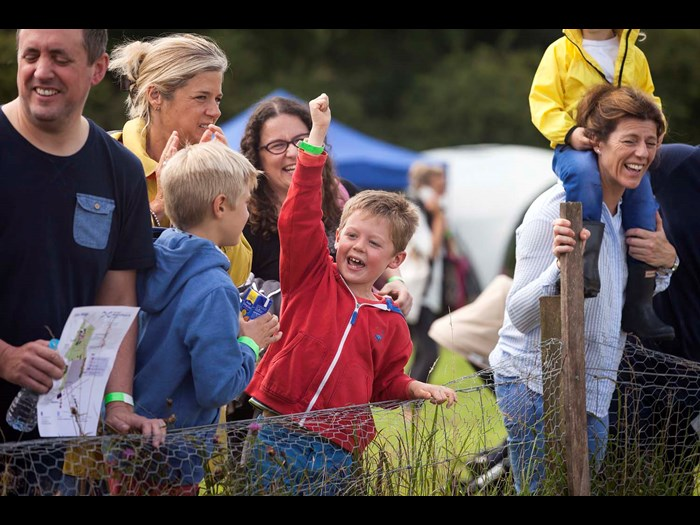 Cheering the animal antics at the Country Fair in 2016 © Ruth Armstrong Photography,
