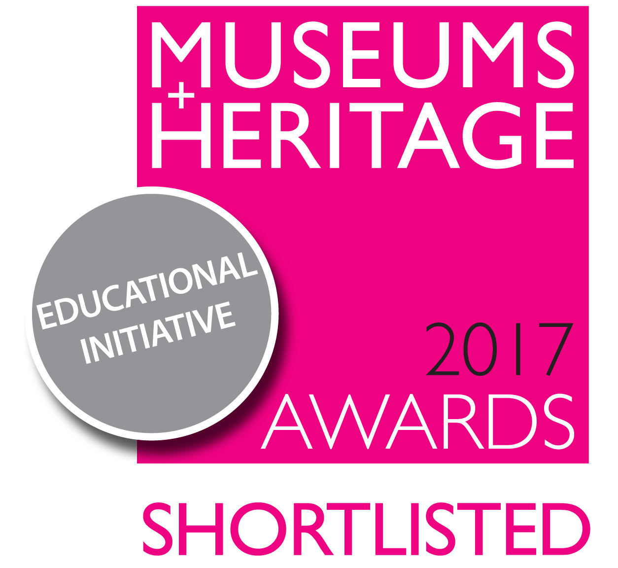 Shortlisted for the Museums + Heritage Educational Initiative award