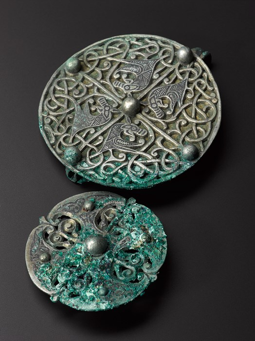 Brooches found with the Galloway Hoard