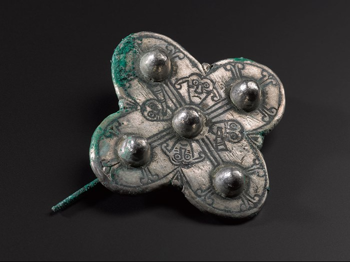 A new type of Anglo-Saxon quatrefoil brooch.