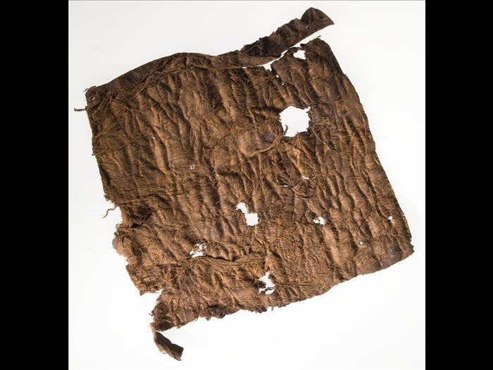 Piece of raw bark, for cloth: Africa, Southern Africa, Zambia, Awemba Country, early 20th century.