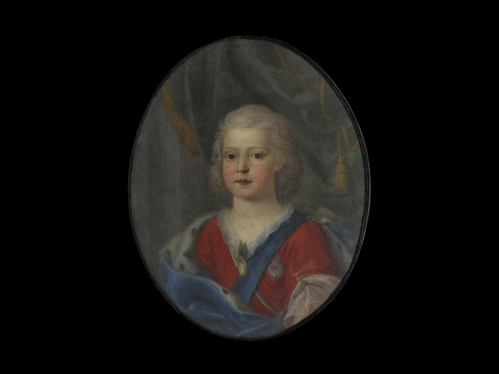 Miniature of Prince Charles Edward Stuart, at around 5 years old.