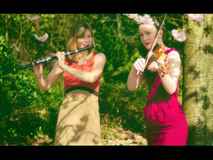 Thu 10 & Sat 26 August: Gráinne Brady & Tina Jordan Rees - Fiddle and step dance duo