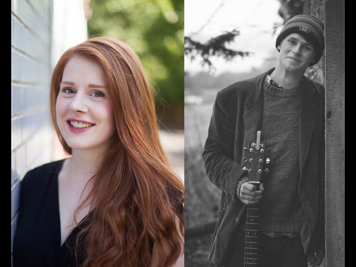 Mon 7 & Sat 12 August: Hannah Rarity and Luc McNally - Guitar and vocal duo