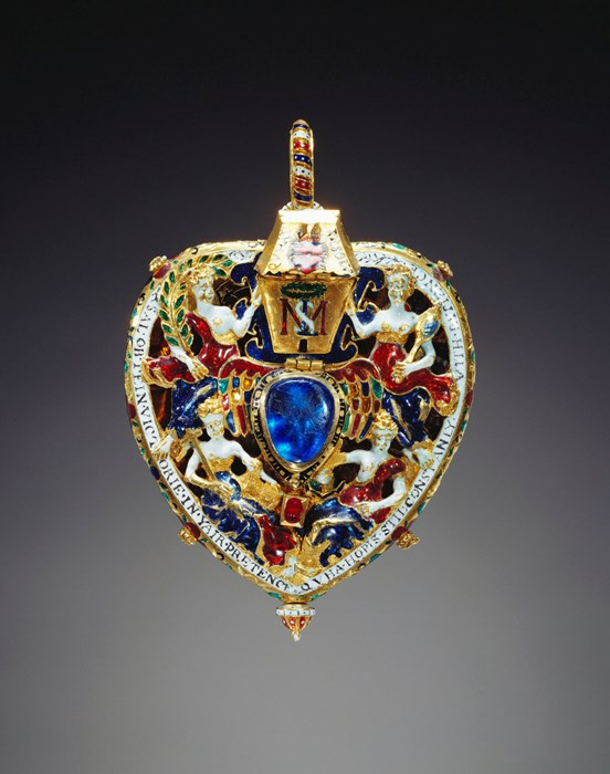 The Darnley Jewel, one of the finest jewels in the Royal Collection, can be seen in Mary Queen of Scots' Chambers at the Palace of Holyroodhouse in Edinburgh. © Royal Collection Trust / © Her Majesty Queen Elizabeth II 2017.