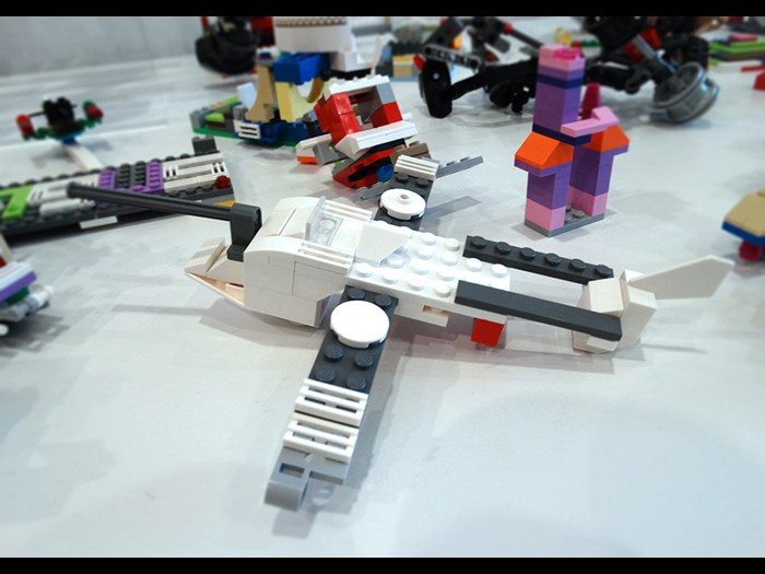 Build an out of this world aircraft for space or earth flight in LEGO®