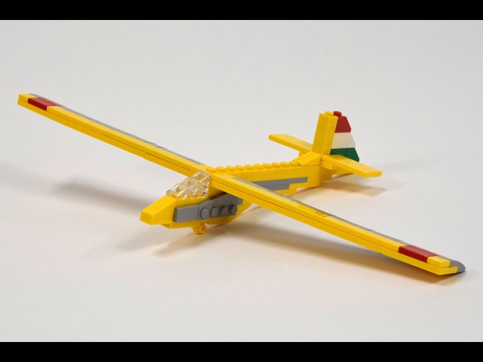 Rubik R-26 Góbé LEGO® aircraft model by Peter Dornbach © Dornbi on Flickr https://www.flickr.com/photos/dornbach/20473943290/in/photolist-xcdj3f-wwP5nC