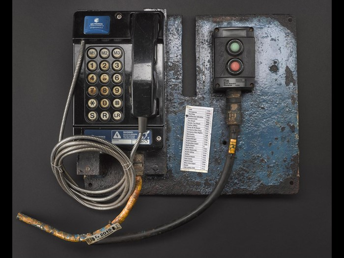 Driller's telephone, Used on the Murchison platform, United Kingdom, c.1979