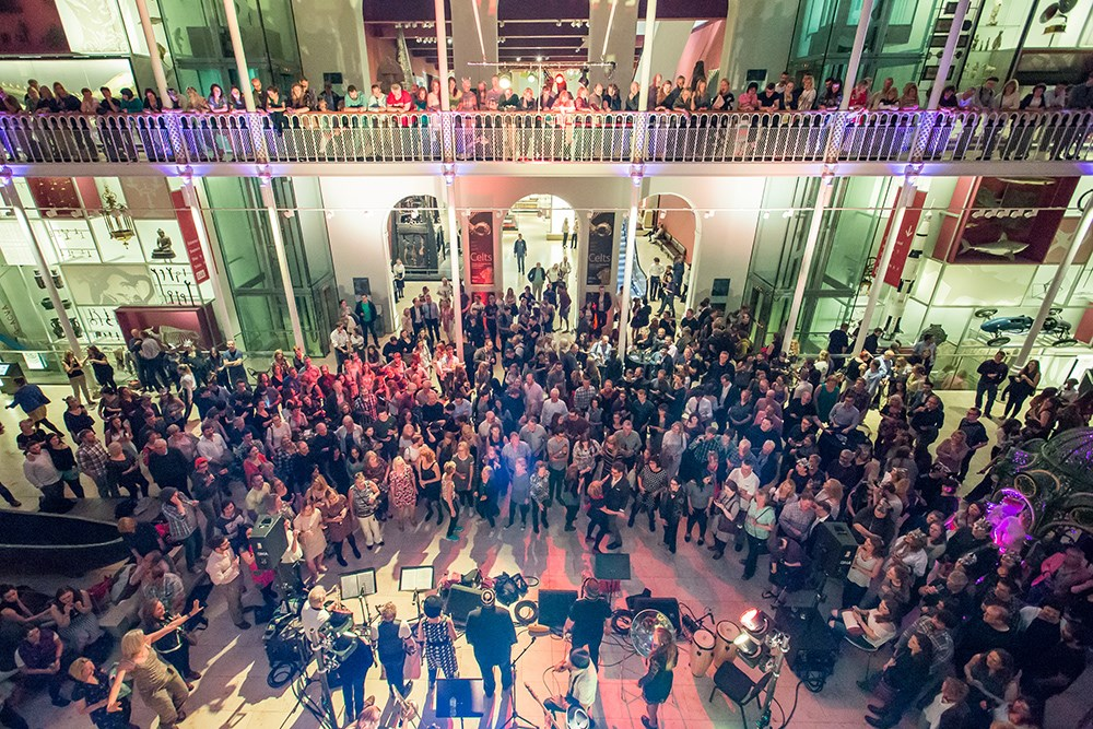 See the Grand Gallery transformed by music and dance. Image from 2016 event © Chris Scott