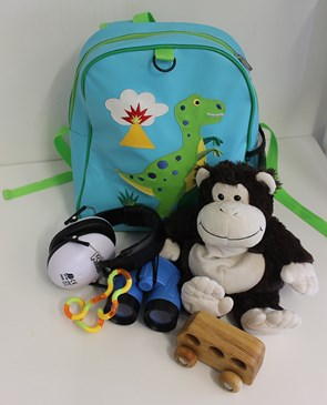Sensory backpacks for autistic children are available to borrow