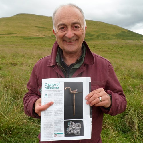 Sir Tony Robinson supports our campaign to save the Galloway Hoard