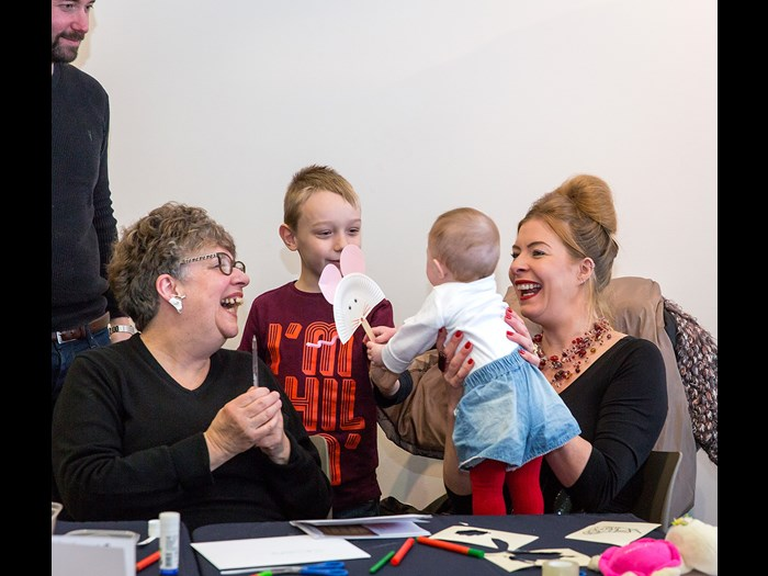 Crafty fun at Burns Unbound 2017 © Ruth Armstrong