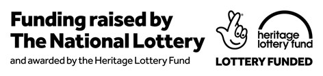 Funding raised by The National Lottery Heritage Lottery Funded