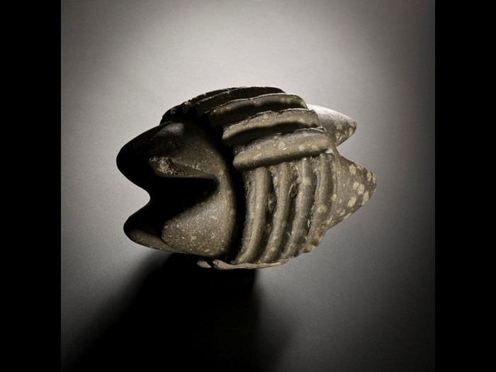 Carved stone object from Skara Brae, 2900 - 2600 BC.