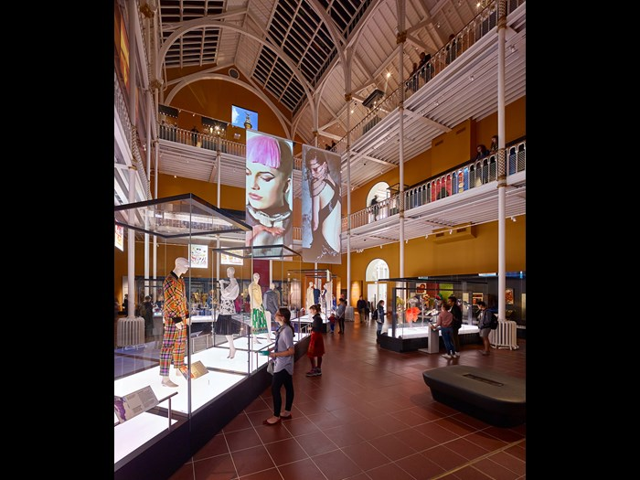 Fashion and style gallery at the National Museum of Scotland. Image © Andrew Lee.