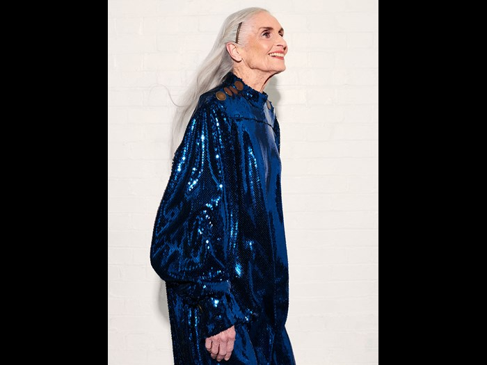 The 'world's oldest supermodel' Daphne Selfe. Image © Ferry Van Der Nat