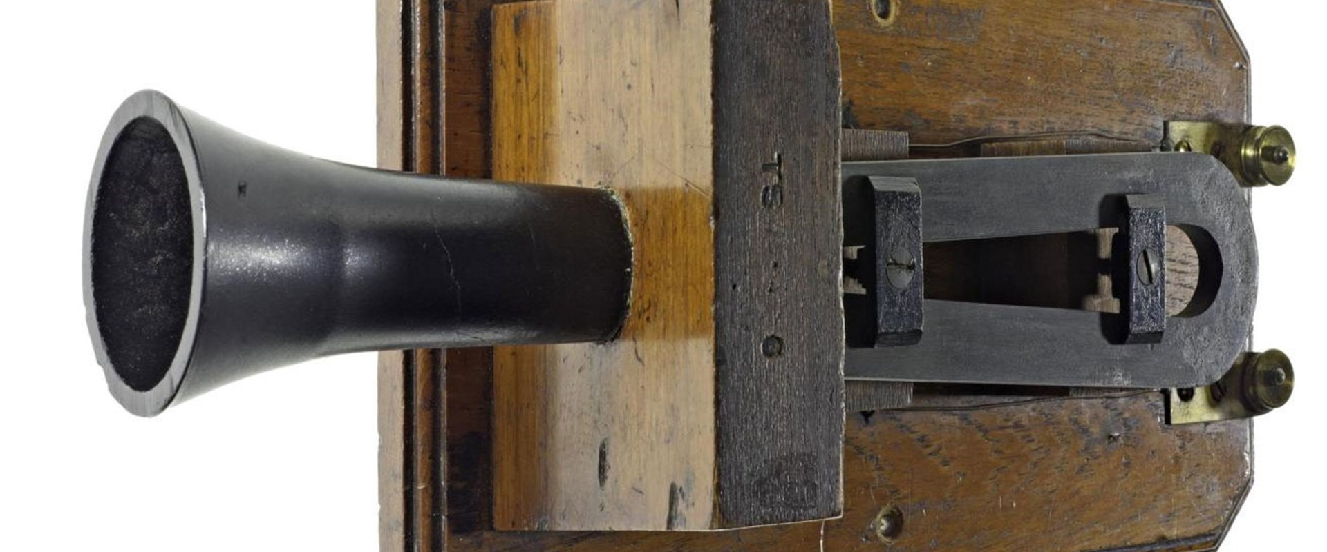 Alexander Graham Bells Box Telephone