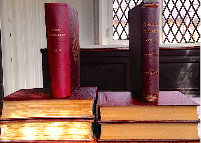 Bound volumes of Chambers's Encyclopaedia