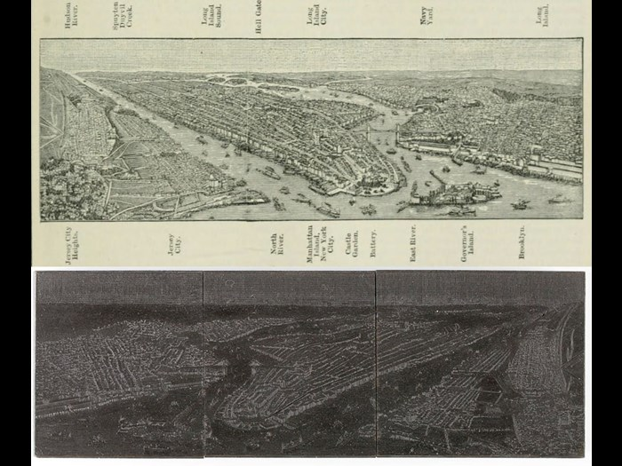 New York map, from Second Edition, volume 7, page 483, 1891.