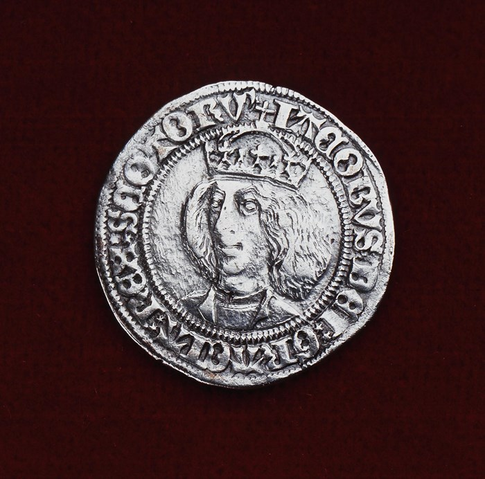 Silver Groat of James III