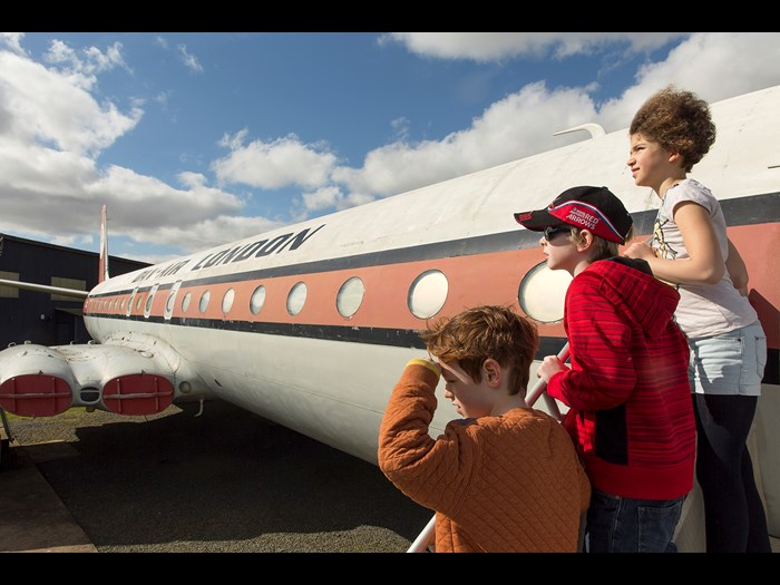Get on board the Comet 4C at East Fortune Airfield © Ruth Armstrong Photography