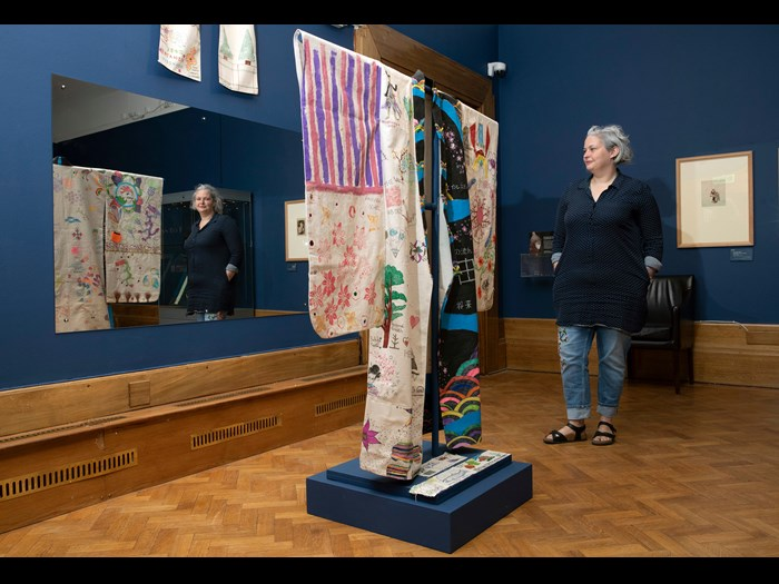 To accompany their Reveal display, Dress to Impress, Perth Museum and Art Gallery developed a very successful community engagement project to create a Community Robe inspired by the display. Find out more about the project in our case study.