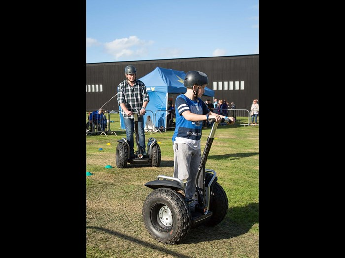 Try out a Segway © Ruth Armstrong Photography