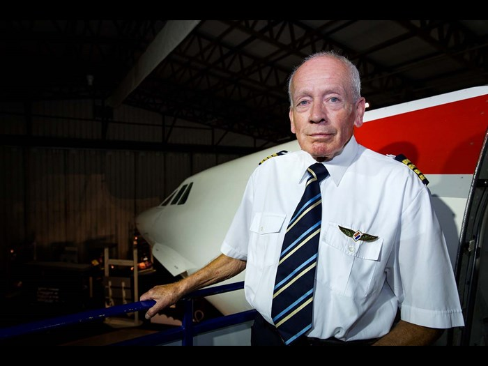 Hear former Concorde pilot Cpt Tony Yule © Ruth Armstrong Photography