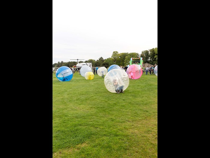 Go head over heels with Zorbing © Ruth Armstrong Photography