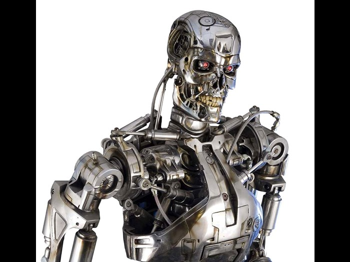 T-800 endoskeleton from the Terminator film series © Solent News/REX/Shutterstock