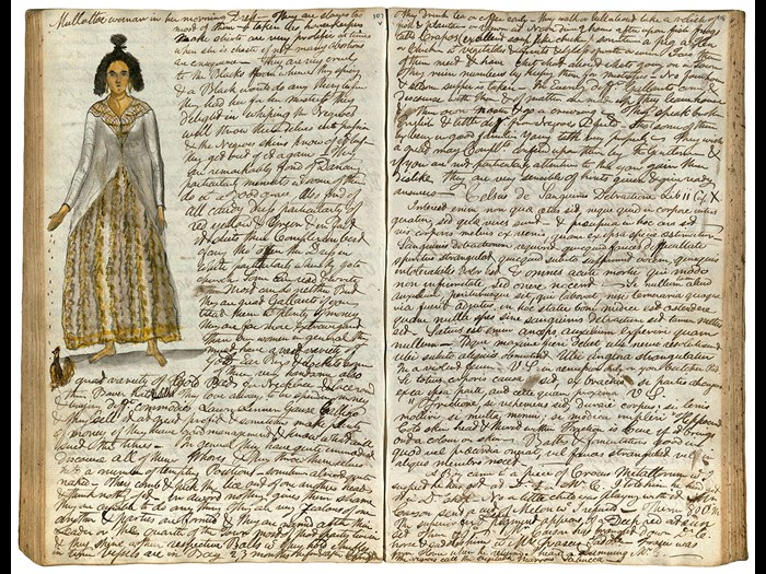 Dr Jonathan Troup's Dominican diary, 1788-1790 © University of Aberdeen.