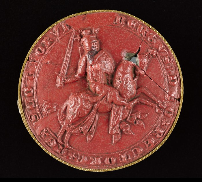Cast of the Great Seal of Robert I