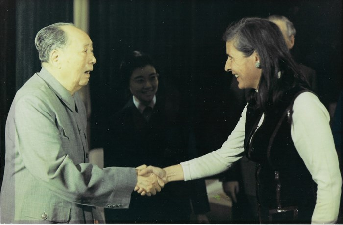 Ann Paludan meeting Mao, 16 October 1974