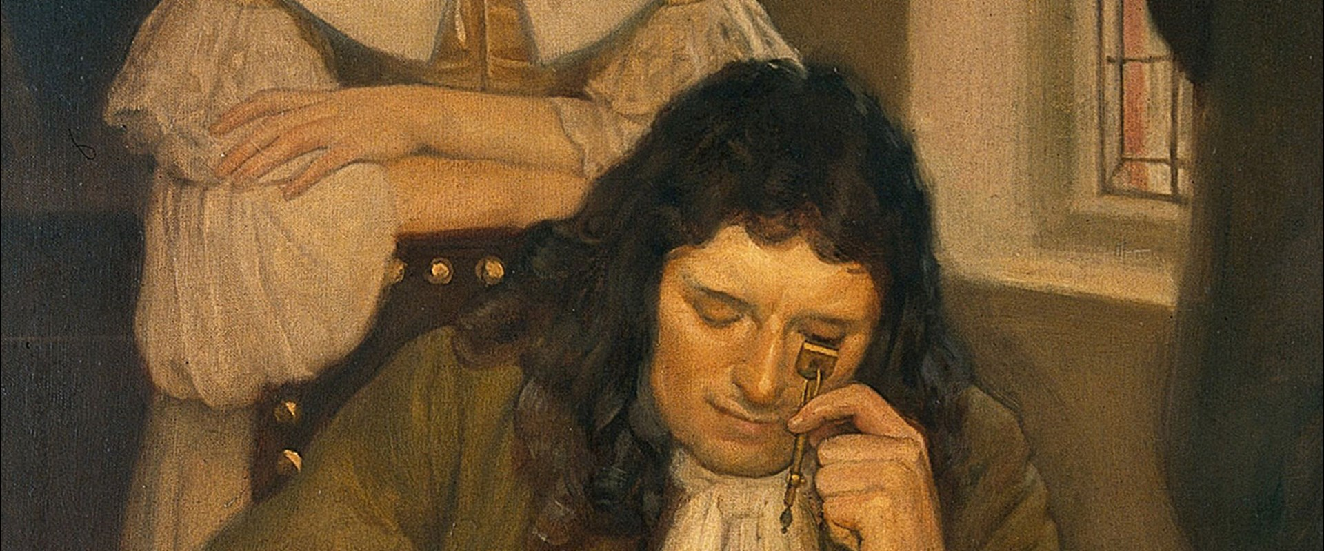 Image result for leeuwenhoek painting