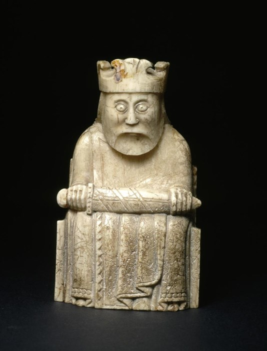 Lewis chess piece king