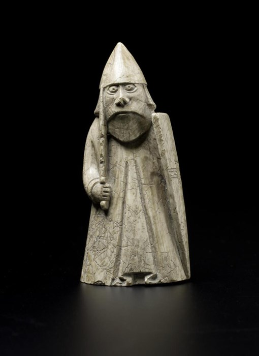 Lewis chess piece beserker