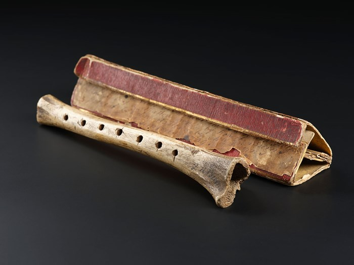 Burns had a profound interest in traditional Scottish folk music. He purchased this chanter made from sheep's bone in the Braes of Atholl in Perthshire. He had been searching for a chanter like this for many years and wrote to a friend that it 'is exactly as shepherds were wont to use in the country'.