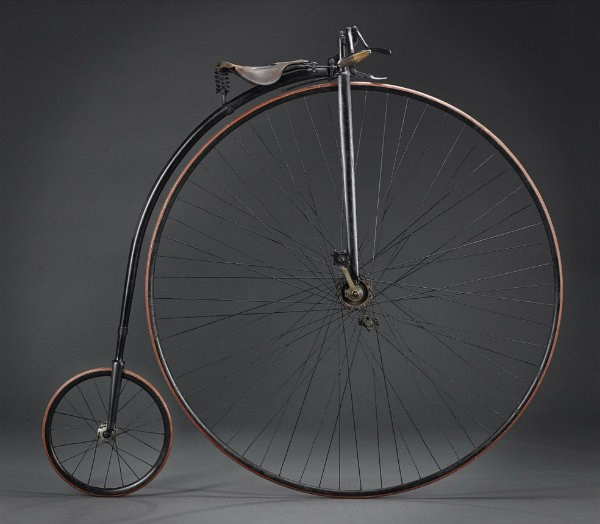 Penny Farthing dating from 1884