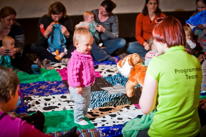 Magic Carpet session with young children