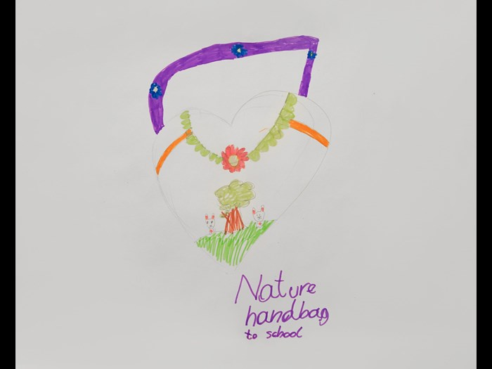 Inspired by nature bag includes seeds to grow wildflowers and attract bees.