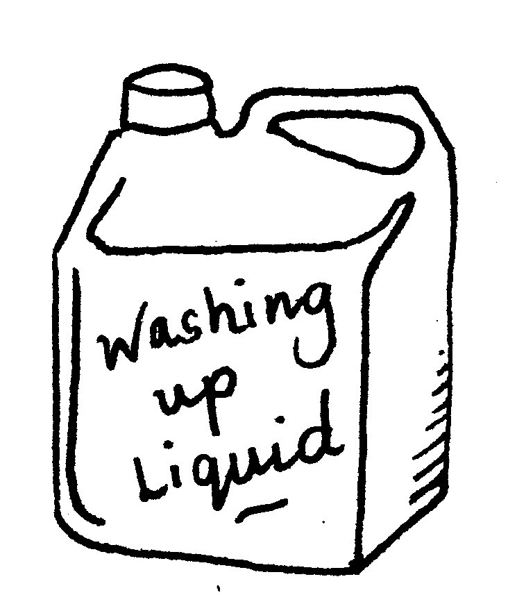 Some products like flour and washing up liquid are now coming in much larger containers meant for restaurants