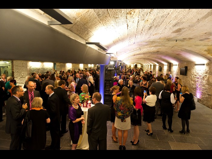 Reception in the Entrance Hall