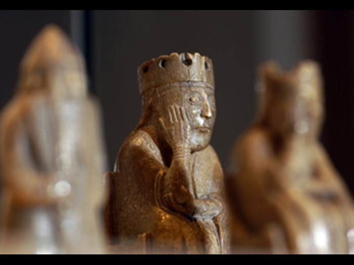 The Lewis chess pieces