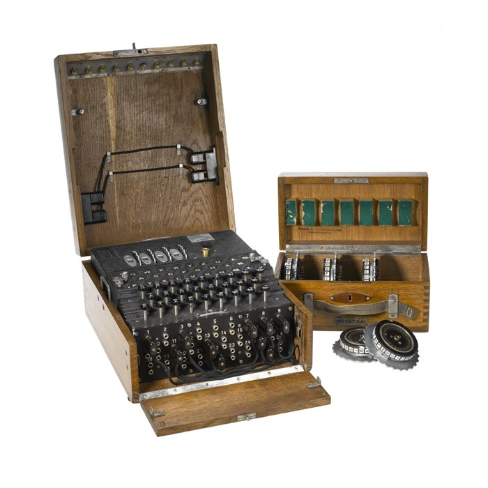 Four-rotor Enigma machine made in 1944