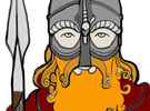 Viking colouring sheets