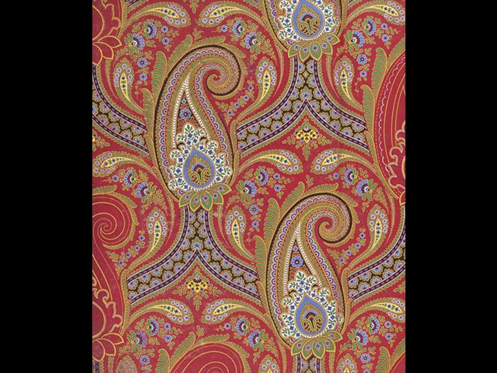 Intricate paisley pattern