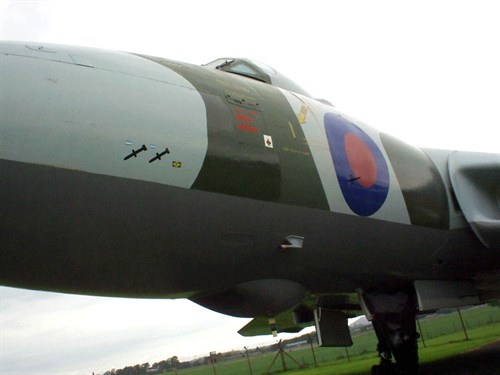 Vulcan Mission Markings