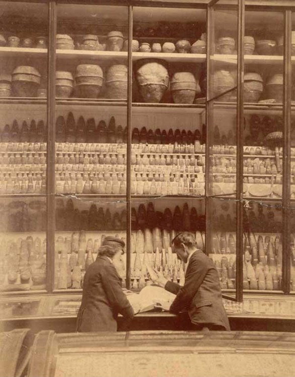The Museum of the Society of Antiquaries in 1890