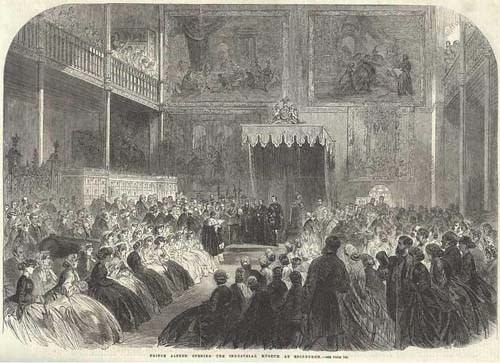 Opening of the Edinburgh Museum of Science and Art in 1866