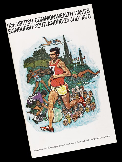 Booklet produced for the IXth Commonwealth Games in 1970